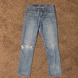 J. Crew boyfriend jeans size 26